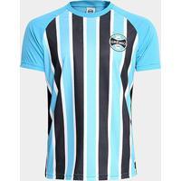 Camisa Grêmio Stripes Masculina - Masculino