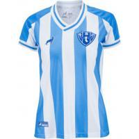 Camisa Do Paysandu I 2020 Lobo - Feminina - Azul/Branco