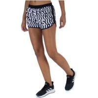 Shorts Adidas M20 Tko - Feminino - Preto/Branco