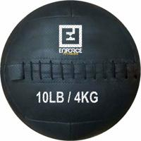 Wall Ball Medicine Ball Bola De Couro 4Kg P/ Crossfit, Treinamento Funcional - Enforce Fitness - Unissex