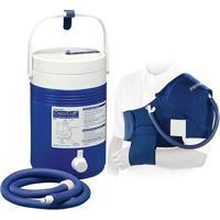 Kit Sistema Para Crioterapia Aplicador P/ Ombro + Cooler Aircast - Unissex