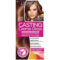 Tintura Semi-Permanente Casting Creme Gloss 670 Chocolate Com Pimenta L'Oréal 1 Unidade