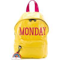Alberta Ferretti Kids Mochila Monday - Amarelo