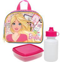 Lancheira Sestini Barbie Rosa