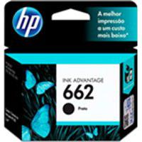 Cartucho Hp 662 2Ml Preto Original Cz103Ab