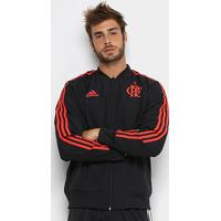 Netshoes  Jaqueta Flamengo Viagem Adidas Masculina - Masculino 3a6aff453b4ce