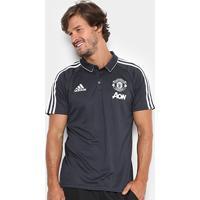 Camisa Polo Manchester United Viagem 17/18 Adidas Masculina - Masculino