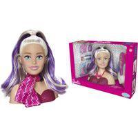 Boneca Barbie Styling Mattel Busto Head Faces