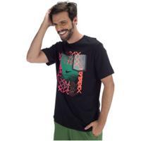 Camiseta Nike Sportswear Sneaker Cltr 5 - Masculina - Preto