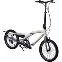 Bike Eliptica Onell Dobravel Aro 20 Aluminio Nexus 3 Marchas - Unissex
