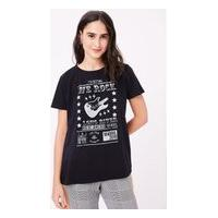 T- Shirt Silk We Rock Preto - Pp