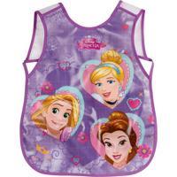 Avental Para Atividades Princesas®- Roxo & Rosa- 22Xdermiwil