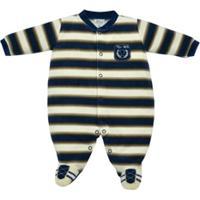 Macacão Longo Bebê Tilly Baby Plush C/ Emblema Troféu - Masculino