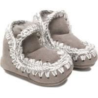 Mou Kids Eskimo Booties - Cinza