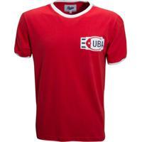 Camisa Liga Retrô Cuba 1980 - Masculino