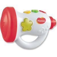 Brinquedo Musical - Trompete Do Bebê - Vermelho - Minimi