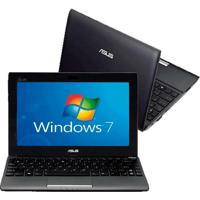 Netbook Asus 1025C-Gry059S - Intel Atom Dual Core N2600 - Ram 2Gb - Hd 500Gb - Tela Led De 10.1'' - Cinza - Windows 7 Starter