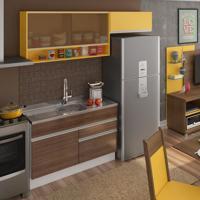 Cozinha Compacta Carol Western E Gold