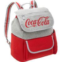 Bolsa Costas Coca Cola Sport - Feminino-Cinza+Vermelho