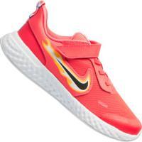 Tênis Nike Revolution 5 Fire Ps - Infantil - Coral