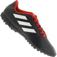 Chuteira Society Adidas Artilheira Iii Tf - Adulto - Preto Branco bdae339640a8a