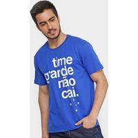 Camiseta Cruzeiro Time Grande Não Cai Masculina - Masculino