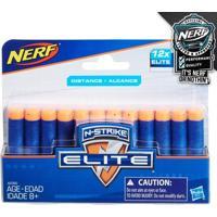 Refil De Dardos Nerf - N-Strike Elite - 12 Dardos - Hasbro - Masculino-Incolor