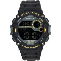 Relógio Speedo 80620G0Evnp1 Preto/Amarelo