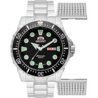 Relógio Orient Automático 469Ss073 P1Sx Masculino - Masculino-Prata