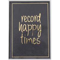 Caderno Com Estampa Record Happy Times