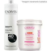 Cadiveu Buriti Mechas Pó Descolorante + Oxidante 40 - Feminino-Incolor
