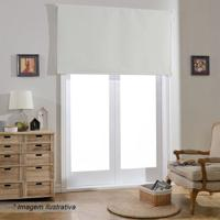 Persiana Structured Blackout - Branca - 160X140X4Cm