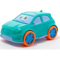 Carrinho Para Bebê - Tchuco Baby - Verde - Samba Toys