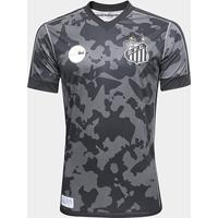 Netshoes  Camisa Santos Iii 17 18 S N° - Torcedor Kappa Masculina -  Masculino 02a529e87237e