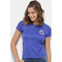 Camisa Cruzeiro 2004 S/N° Feminina - Feminino-Azul