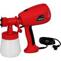 Pistola Pulverizadora Air Plus Spray 300W 127V Vermelha Schulz