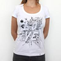 Love - Camiseta Clássica Feminina