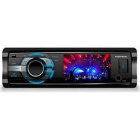 Dvd Player Automotivo, Pósitron, Dvd Sp4330 Bt, Preto/Cromo