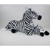 Zebra De Pelúcia Deitada