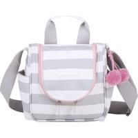 Frasqueira Maternidade Térmica Masterbag Emy Candy Colors Ice Pink