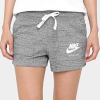 Short Nike Gym Vintage Feminino - Feminino-Chumbo