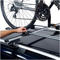 Suporte De Bicicleta Para Carros Thule Freeride - Teto - 1 Bike - Prata/Preto