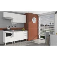 Cozinha Modulada Completa Com 4 Módulos Branco - Art In Móveis