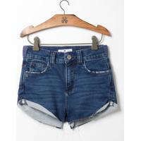 Shorts John John Kids Boy Sophia Jeans Moletom Azul Feminino (Jeans Medio, 12)