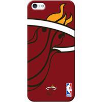 Capinha De Celular Nba - Iphone 5 5S Se - Miami Heat - Unissex