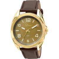 ... Kit Relógio Condor Casual - Masculino-Marrom c3a42475b9