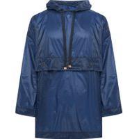 Blusa Masculina Maxi Outwear - Azul