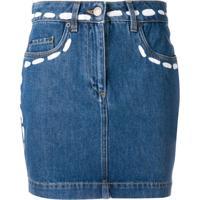 Moschino Saia Jeans - Azul