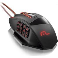 Mouse Profissional Laser 18 Botões 4000DpiMultilaser Mo206
