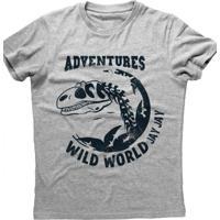 Camiseta Masculina Jay Jay Adventures Cinza Mescla e2cbdcccbc0